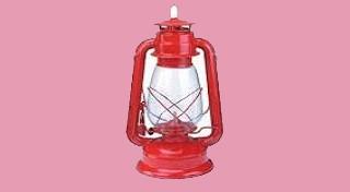 Rode lantaarn voor beide fanions!